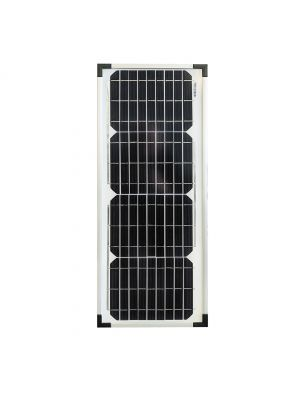 Deutsche Technologies 20w Fixed Monocrystalline Solar Panel