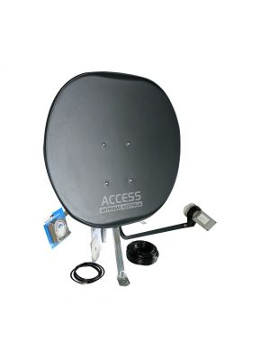 Deluxe Portable Satellite Kit with No Receiver