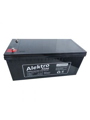 Alektro 200AH AGM Battery